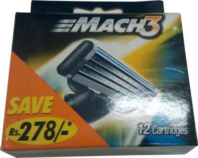 Buy Gillette Mach 3 Cartridges: Shaving Cartridge