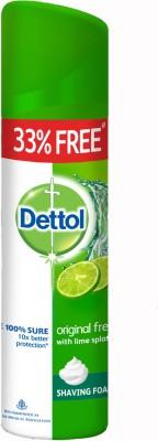 Dettol Shaving Foams Dettol Shaving Foam Original Fresh