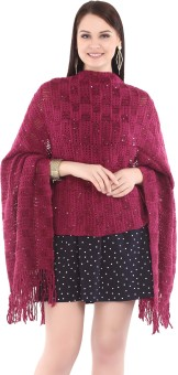 City Chic Polyester Self Design Women's Shawl - SWLEBGGJ4QP8M3HD