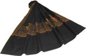 Sofias Wool Self Design Women's Shawl