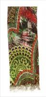 Enigma Viscose Printed Women's Shawl