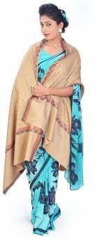 Indigocart Warm Cashmilon Shawl 152 Wool Self Design Women's Shawl