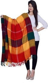 Rama Acrylic Checkered Women's Shawl