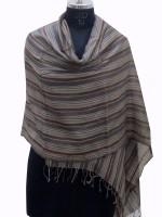 Dealtz Wool Striped Women's Shawl