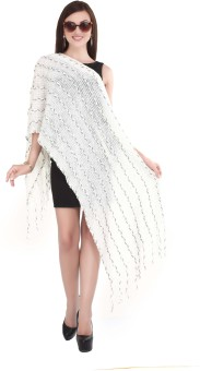City Chic Polyester Self Design Women's Shawl - SWLEBGGJZHBBHGU7