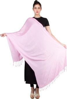 KeepSake Poly Cotton Self Design Women's Shawl - SWLEBH3GKY5QZHDY
