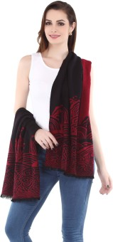 City Chic Polyester Self Design Women's Shawl - SWLEBGGK5KWF9HP2