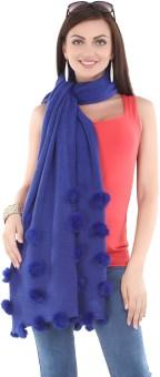 City Chic Polyester Self Design Women's Shawl - SWLEBGGJSKSUXNKN
