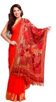 Aapno Rajasthan Pashmina Floral Print Women's Shawl