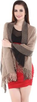 City Chic Polyester Self Design Women's Shawl - SWLEBGGJEYGXZZ47