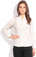 Park Avenue Women's Striped Casual Linen Shirt