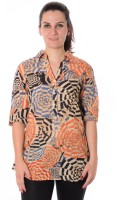 Urban Religion Women's Printed Casual Shirt - SHTDWPYXFDRCB2SC