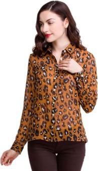 Oxolloxo Animal Women's Printed Casual Shirt