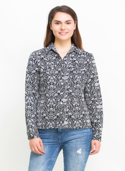 Oxolloxo Women's Printed Casual Shirt - SHTE2JZSUKHGJW57