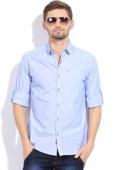The Indian Garage Co. Men's Striped Casual Shirt - SHTEFFFETRJSG3SH