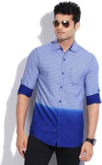 The Indian Garage Co. Men's Checkered Casual Shirt - SHTEYFG98GG9A4AR