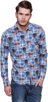 Zovi Men's Checkered Casual Shirt - SHTE87EUYZHEEDHT
