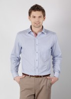 Azziano Men's Striped Casual Shirt