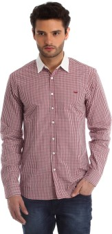 Red Tape Men's Checkered Casual Shirt