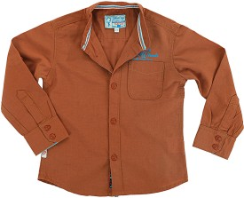 Biker Boys Boy's Solid Casual Shirt