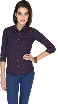 SayItLoud Anchor Women's Printed Casual Shirt