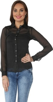 From The Ramp Women's Solid Casual Shirt