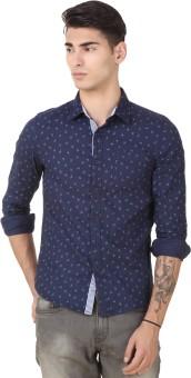 4 Stripes Men's Printed Casual Shirt