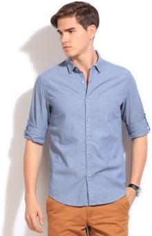The Indian Garage Co. Men's Solid Casual Shirt - SHTEFFFEK8PVGZXQ