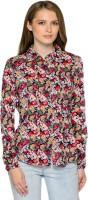 Mavango Women's Floral Print Casual Shirt