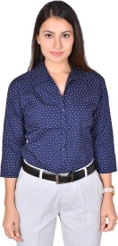 LGC Women's Printed Formal, Casual, Party, Lounge Wear Shirt