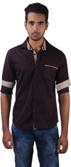 Alive Sport Modern Men's Solid Casual Shirt