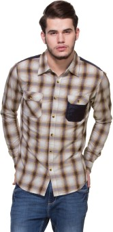 Zovi Men's Checkered Casual Shirt - SHTE8Z8AZKHKG8VN