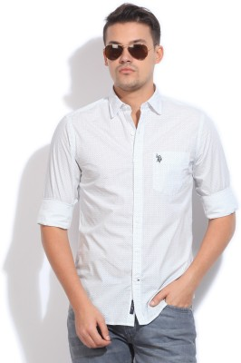 U.S.Polo Assn. Men Printed Casual Shirt