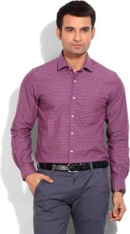 Peter England Men's Checkered Formal Shirt - SHTE2M4BUHNZHZWA