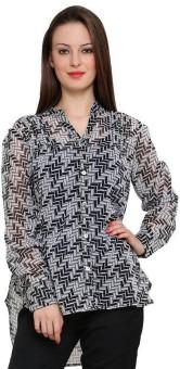 Tapyti James Women's Graphic Print Casual Shirt