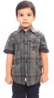 Bio Kid Short Sleeve Baby Boy's Checkered Casual Shirt - SHTE4DHFJ6NZSSP9
