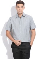 John Players Men's Checkered Formal Shirt