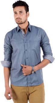 S9 Men Men's Solid Casual Shirt