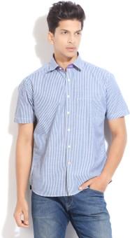 Proline Men's Striped Casual Shirt