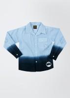Batman Boy's Solid Casual Shirt
