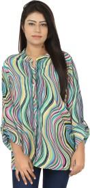 Chic Fashion Women's Printed Casual Shirt