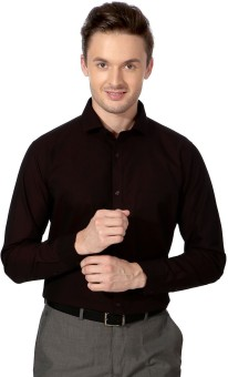 F Factor By Pantaloons Men's Solid Formal Shirt