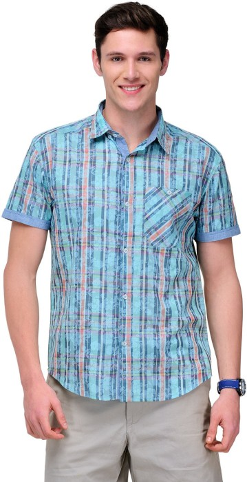 Yepme Men's Checkered, Floral Print Casual Shirt - SHTDV34X7W6ZE2GC