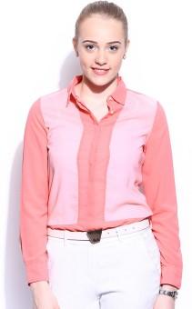 Mast & Harbour Daisy Women's Solid Casual Shirt - SHTE4HXDAYZFNK7R