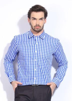 Genesis Genesis Men's Checkered Formal Shirt (Multicolor)