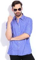 Indian Terrain Men's Striped Casual Shirt - SHTDVJ9CF8K9EYDB