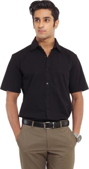 Ivoc Cotton Men's Solid Formal Shirt