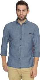 Breakbounce Men's Solid Casual Shirt
