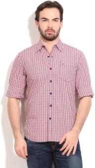 Lee Men's Checkered Casual Shirt - SHTE4DPRG6J6AHGX
