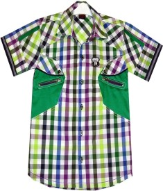 Salty Boy's Checkered Casual Shirt